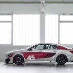 Mercedes CLA 45 AMG Racing Series side