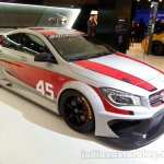 CLA 45 AMG Racing Series front right quarter