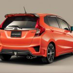 Mugen body kit 2014 Honda Jazz (Type 2 rear)