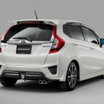 Mugen body kit 2014 Honda Jazz (rear)