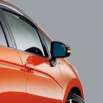 Mugen carbon mirror and LED indicators for 2014 Honda Jazz
