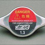 Mugen radiator cap for 2014 Honda Jazz