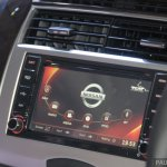 Nissan Grand Livina facelift entertainment system