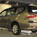 Nissan Grand Livina facelift rear three quarter
