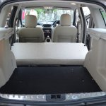 Nissan Terrano boot space when seats folded