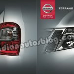 Nissan Terrano brochure lights