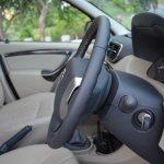 Nissan Terrano height adjustable steering wheel