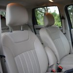 Nissan Terrano perforated leather seat covers