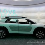 Profile of the Citroen Cactus Concept