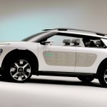 Profile of the Citroen Cactus Conept