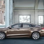 Profile of the Ford Mondeo Vignale concept