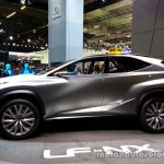 Profile of the Lexus LF-NX Concept