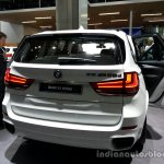 Rear fascia of the 2014 BMW X5 M50d