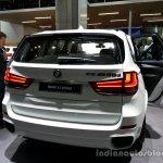 Rear fascia of the 2014 BMW X5 M50d