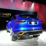 Rear left three quarter  of the Jaguar CX-17 Concept
