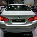 Rear of the 2014 BMW 5 Series LCI