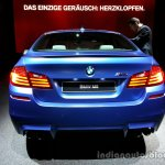 Rear of the 2014 BMW M5