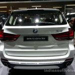 Rear of the 2014 BMW X5