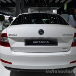Rear of the 2014 Skoda Octavia GreenLine