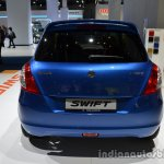 Rear of the 2014 Suzuki Swift facelift