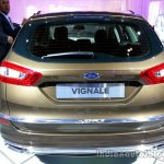 Rear of the Ford Mondeo Vignale Concept estate