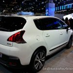 Rear right three quarter of the 2014 Peugeot 3008