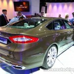 Rear right three quarter of the Ford Mondeo Vignale Concept sedan