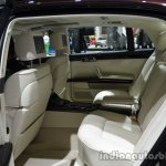Rear seats of the 2014 VW Phaeton Exclusive