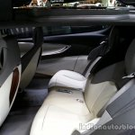 Rear seats of the Opel Monza Concept