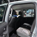 Rear seats of the VW Amarok Dark Label