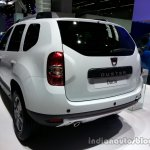Rear thee quarter of the 2014 Dacia Duster facelift