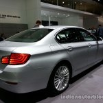 Rear three quarter of the 2014 BMW 5 Series LCI