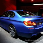 Rear three quarter of the 2014 BMW M5
