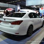 Rear three quarter of the 2014 Lexus GS 300h