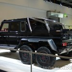 Rear three quarter of the Brabus B63S-700 6x6