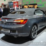 Rear three quarter of the Opel Cascada 200hp