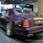 Rear three quarter of the Rolls Royce Phantom Celestial Edition