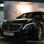 Right - Transeco 2014 Mercedes S Class Front