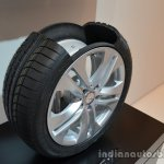 Run flat tires of the Mercedes M-Guard armoured SUV