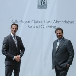 Sharad Kachalia, Director of Sales and Marketing, Rolls-Royce Motor Cars Ahmedabad and Mumbai and Herfried Hasenoehrl, GM Emerging Markets, Asia, Rolls Royce