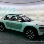 Side of the Citroen Cactus Concept