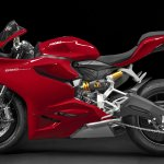 Side of the Ducati 899 Panigale