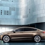 Side of the Ford Mondeo Vignale concept
