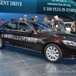 Side of the Mercedes S Class INTELLIGENT DRIVE