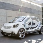 Smart FourJoy Concept front three quarters