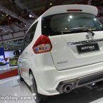 Suzuki Ertiga Sporty rear three quarter
