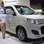 Suzuki Wagon R Stingray front three quarters