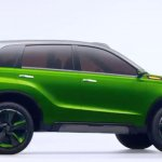 Suzuki iv4 green with black contrast roof