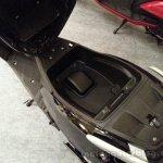 TVS Jupiter underseat storage