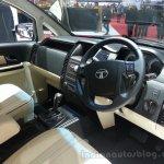 Tata Aria facelift dashboard